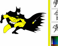 Batman online coloring Batman j�t�kok ingyen