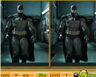 Batman spot the difference online j�t�k